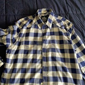 Men's Fitted XL Express Flannel